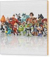 Disney Infinity Wood Print
