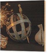 Disparate Objects 2 A Still Life Wood Print