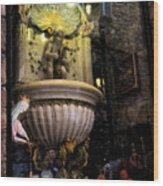 Display Window - Assisi - Italy Wood Print