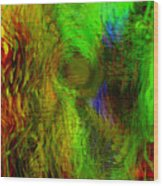 Dissolution Wood Print by Linda Sannuti
