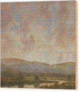 Distant Light  Wood Print