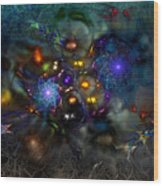 Distant Realms Of The Imagination Wood Print