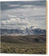 Distater Peak Road -february-0723-r1 Wood Print