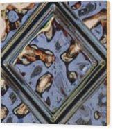 Distortion In Focus Wood Print