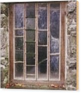 Disused Watermill Window Wood Print