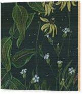 Ditchweed Fairy Milkweed Wood Print