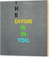 Divine #4 Wood Print
