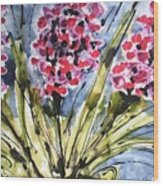 Divine Blooms-21057 Wood Print
