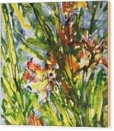 Divine Blooms-21061 Wood Print