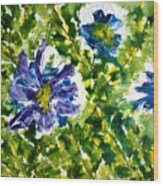 Divine Blooms-21165 Wood Print