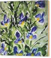 Divine Blooms-21169 Wood Print