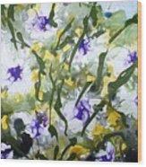 Divine Blooms-21172 Wood Print