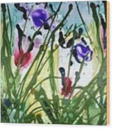 Divine Blooms-21174 Wood Print
