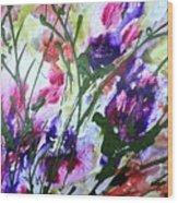 Divine Blooms-21176 Wood Print