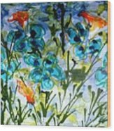 Divine Blooms-21180 Wood Print