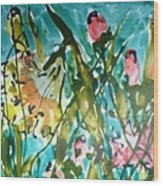 Divine Blooms-21191 Wood Print