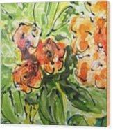 Divine Blooms-21192 Wood Print