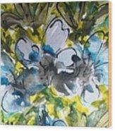 Divine Blooms-21200 Wood Print