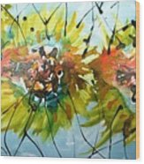 Divine Blooms-21202 Wood Print