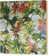 Divine Blooms-21203 Wood Print