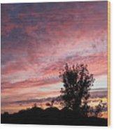 Divine Dawn Wood Print