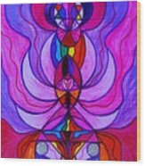 Divine Feminine Activation Wood Print