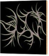 Divine Havoc Wood Print