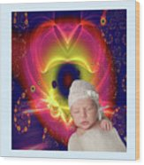 Divine Heart/bigstock - 92883674 Baby Wood Print
