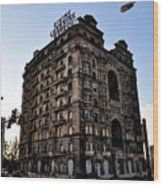 Divine Lorraine Hotel Wood Print by Bill Cannon