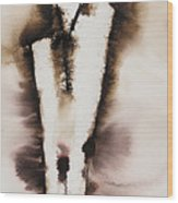 Divine Love Series No. 2042 Wood Print