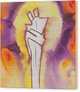 Divine Love Series No. 2084 Wood Print