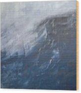 Divine Storm Wood Print