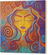 Divine Transcendence Wood Print