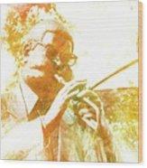 Dizzy Gillespie Cheraw South Carolina 2 Wood Print