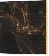 Dna Chain Closeup Wood Print