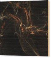 Dna Chain Of Life Wood Print