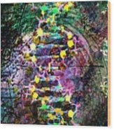 Dna Dreaming 7 Wood Print