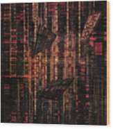 Dna Test Wood Print