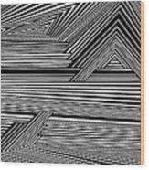 Dneyreveht Wood Print