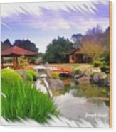 Do-00007 Japanese Gardens Wood Print
