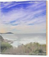 Do-00018 Look Out At Terrigal Wood Print