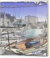 Do-00048 Cullen Bay Wood Print