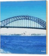 Do-00057 Harbour Bridge Wood Print