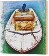 Do-00277 Boat In Hardys Bay Wood Print