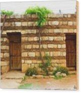 Do-00305 Old Hutt In Anjar Wood Print