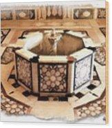 Do-00323 Old Bath Fountain Wood Print