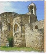 Do-00344 Church Of St John Marcus In Byblos Wood Print