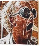 Doc Brown Mistical Wood Print