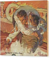 Doc Savage The Black Spot Wood Print