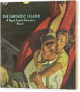 Doc Savage The Fantastic Island Wood Print
